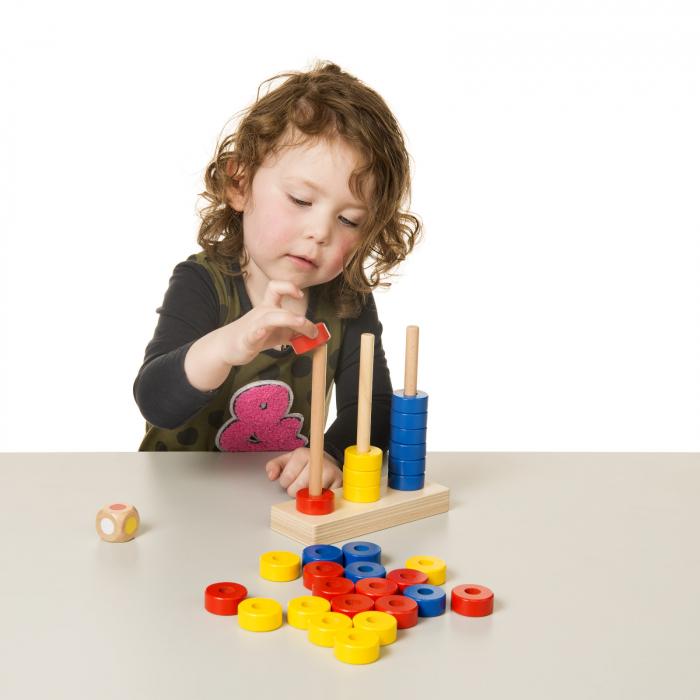 Joc de dezvoltare cognitivă, Stivuiește inelele 2