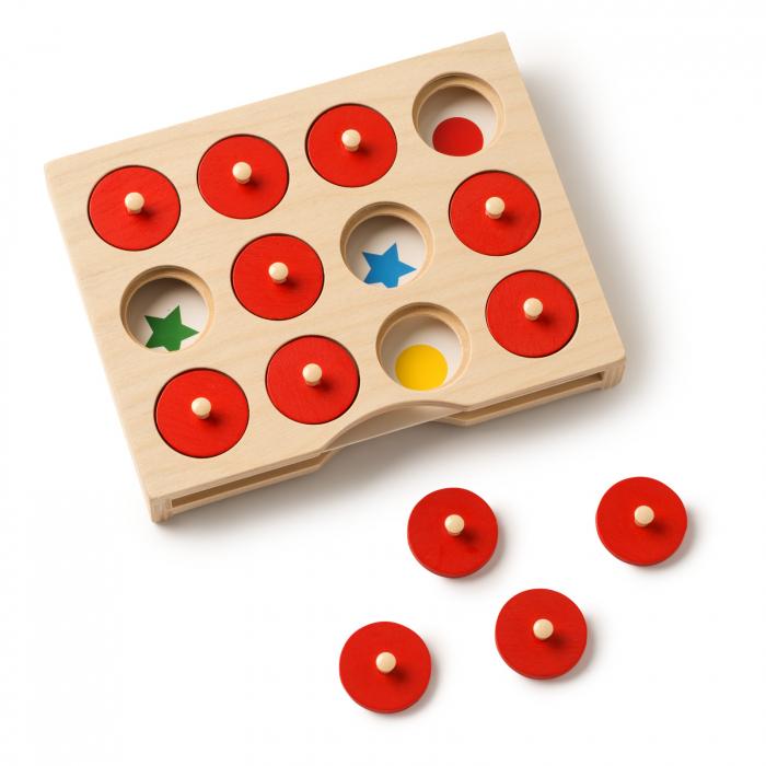 Joc de dezvoltare cognitivă, Caută și găsește 1
