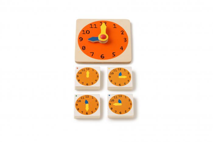 Joc de dezvoltare cognitivă, Cât este ceasul 0