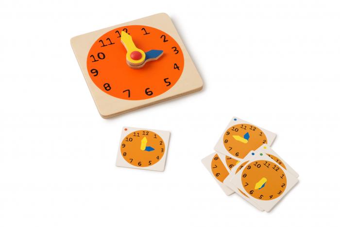 Joc de dezvoltare cognitivă, Cât este ceasul 2