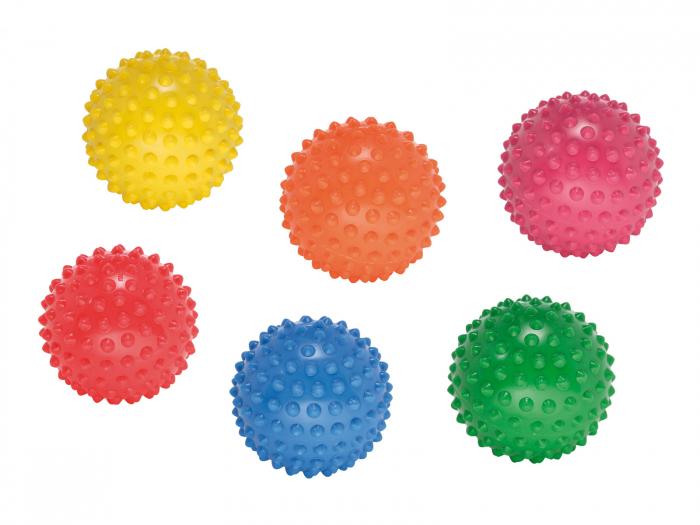 Prindere ușoară, set de 6 mingi arici 0
