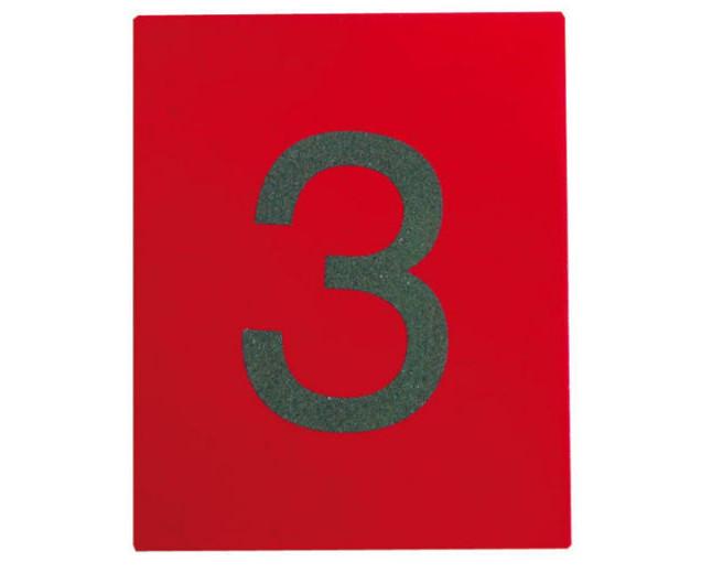 Set de numere din șmirghel 1