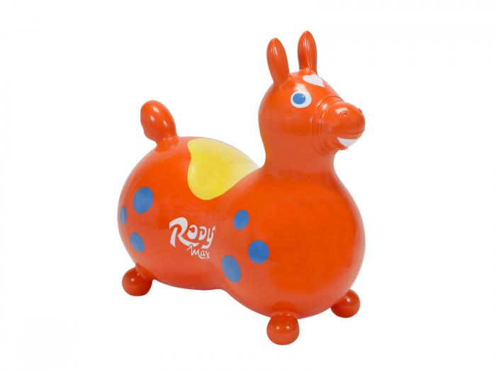 Căluțul săltăreț Rody Max portocaliu 0