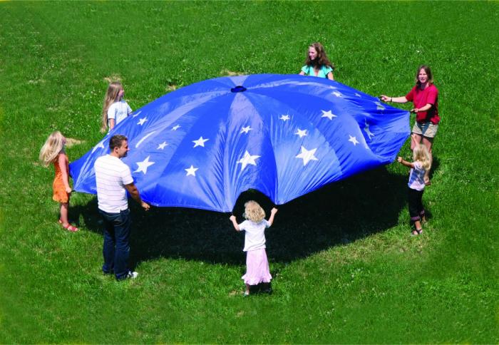 Parașută de joacă diametru 5m Cerul înstelat 0