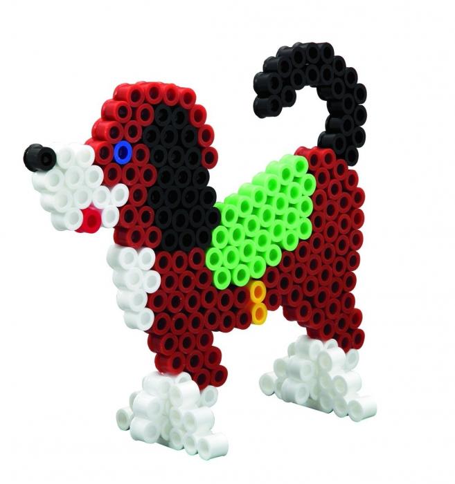 ANIMALE - 900 margele HAMA MAXI in cutie de cadou MARE 2