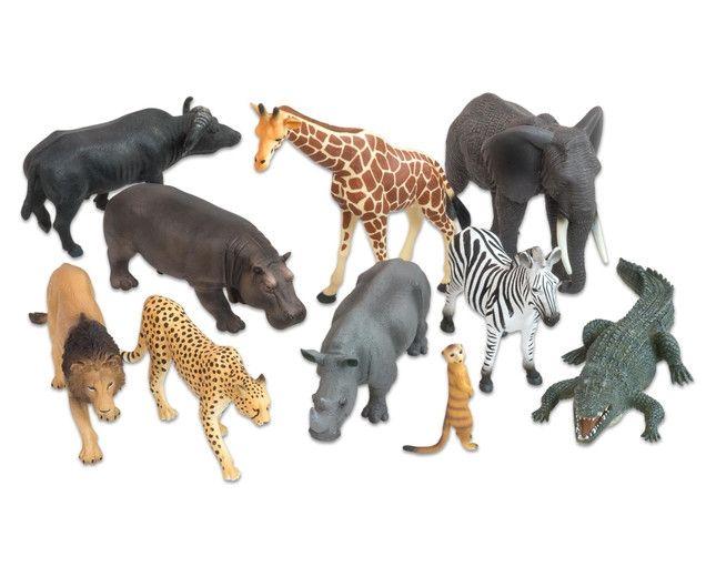 Animale din Africa realistice 0