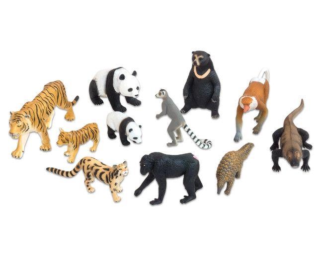 Animale din Asia realistice 0