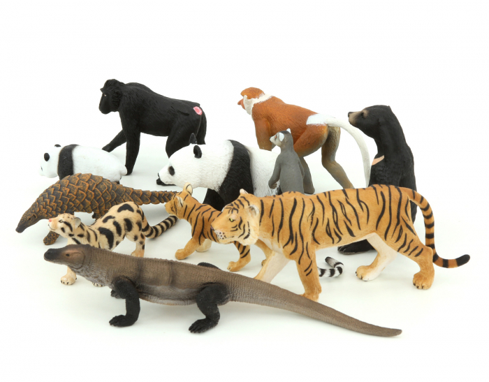 Animale realistice din Asia 1
