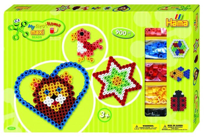 BAIETI - 900 margeleHAMA  MAXI in cutie de cadou MARE 0