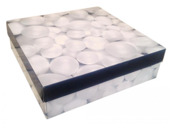 Bile și ouă din polistiren Creativ Company, între 1,5 și 6,1 cm, albe, set de 550 bucăți 0