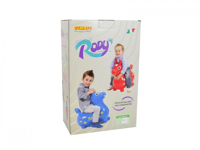 Căluțul săltăreț Rody albastru 1