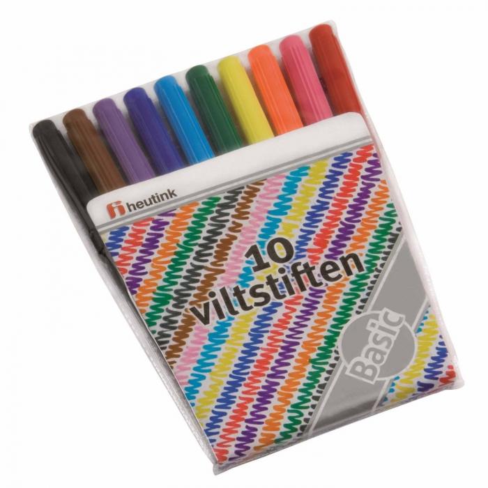 Cariocă subțire 10 culori 1