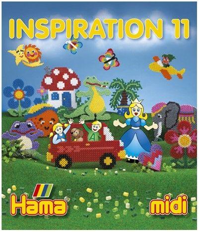 Carte cu modele colorate HAMA MIDI, INSPIRATII 11 0