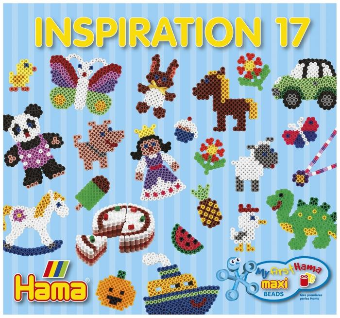 Carte Inspiratii 17 - Margele Hama Maxi 0