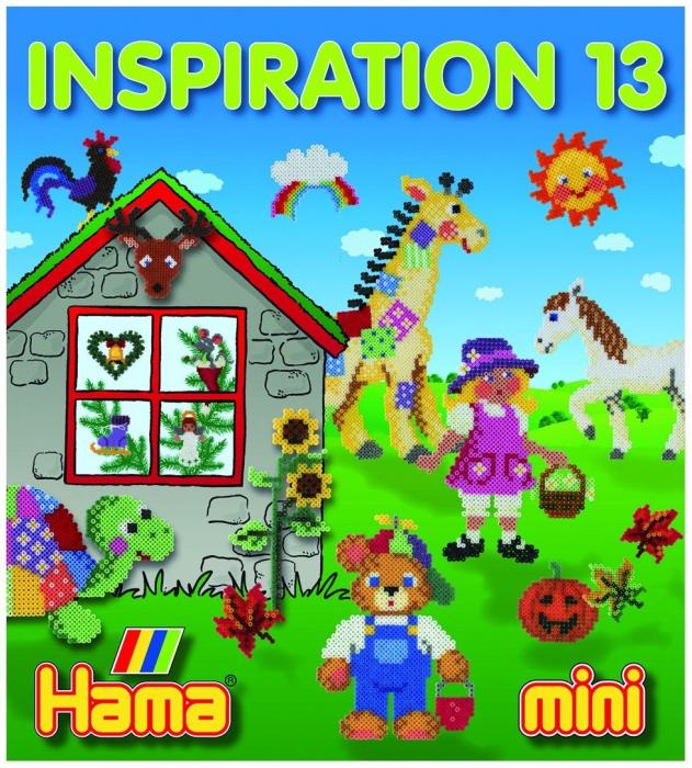 Cartea INSPIRATII nr. 13 HAMA MINI 0