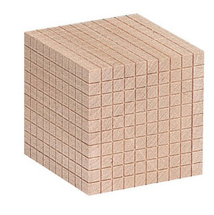Cub - element suplimentar pentru sistemul zecimal din lemn [0]