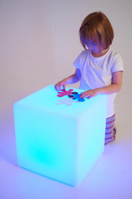 Cub Senzorial Luminos 5