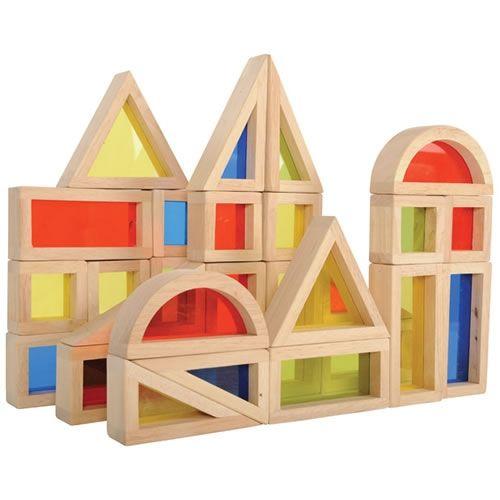 Set de 24 buc cuburi de construcții CURCUBEU 17