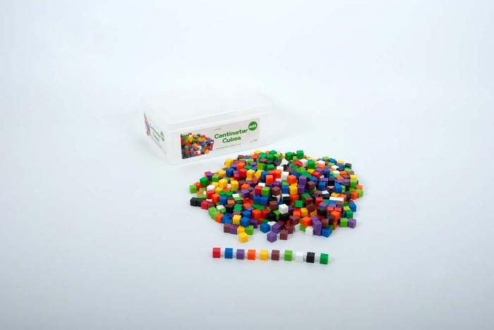 Set de 1000 de cuburi de 1 cm cub 1