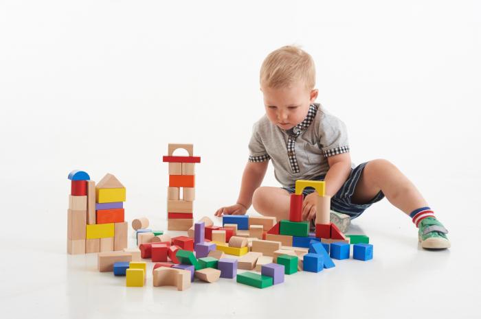 Cuburi de lemn colorate 1