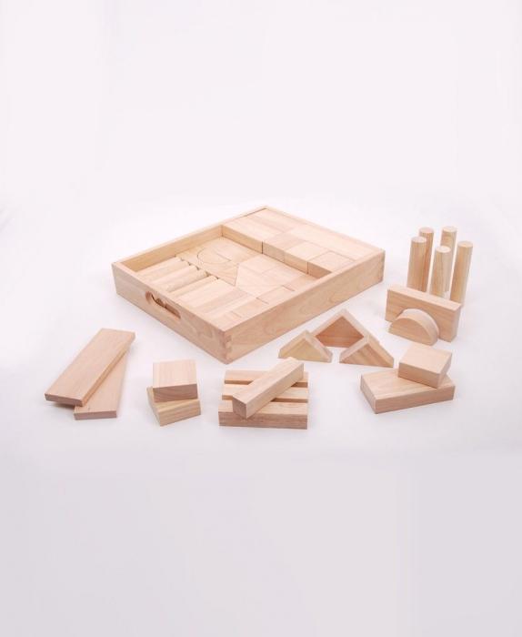 Cuburi de lemn JUMBO natur [0]