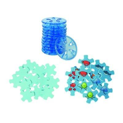 Disc echilibru plastic cu CONTUR - roșu 2