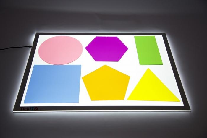 Forme uriașe pentru amestecarea culorilor, TickiT, set de 6 elemente, multicolor 1