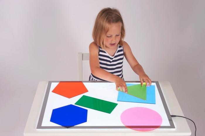 Forme uriașe pentru amestecarea culorilor, TickiT, set de 6 elemente, multicolor 4