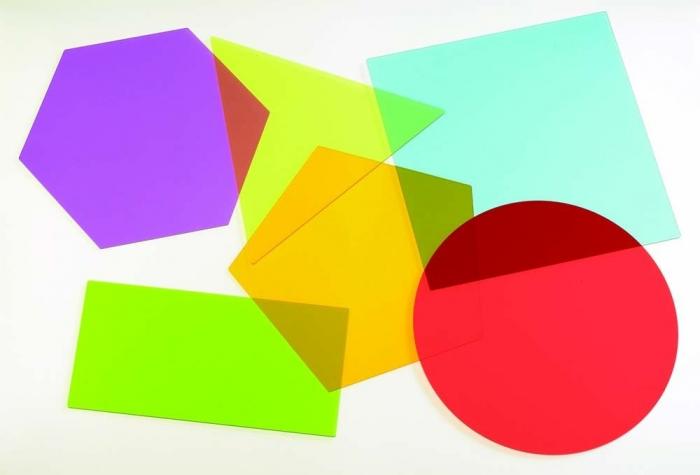 Forme uriașe pentru amestecarea culorilor, TickiT, set de 6 elemente, multicolor 0