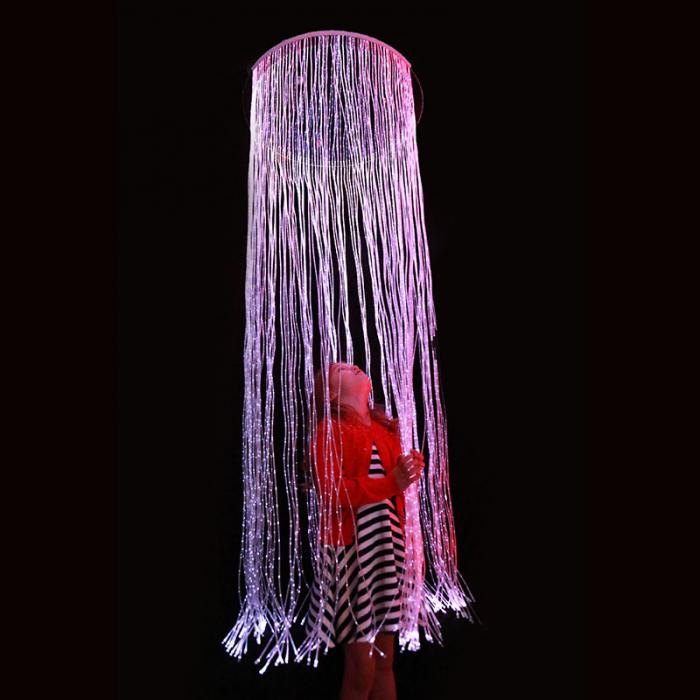 Inel cortină senzorială cu fibre optice [0]