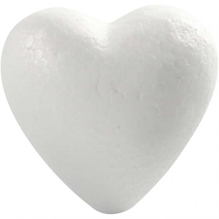 Inima de polistiren de 4 cm 0