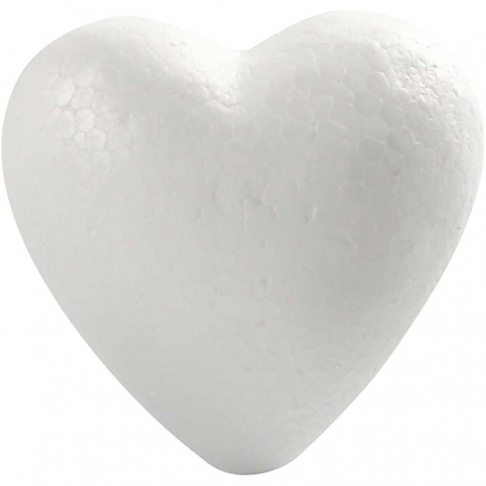 Inima de polistiren de 8 cm 0