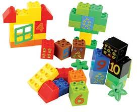 Joc de construcții cuburi atașabile midi 2