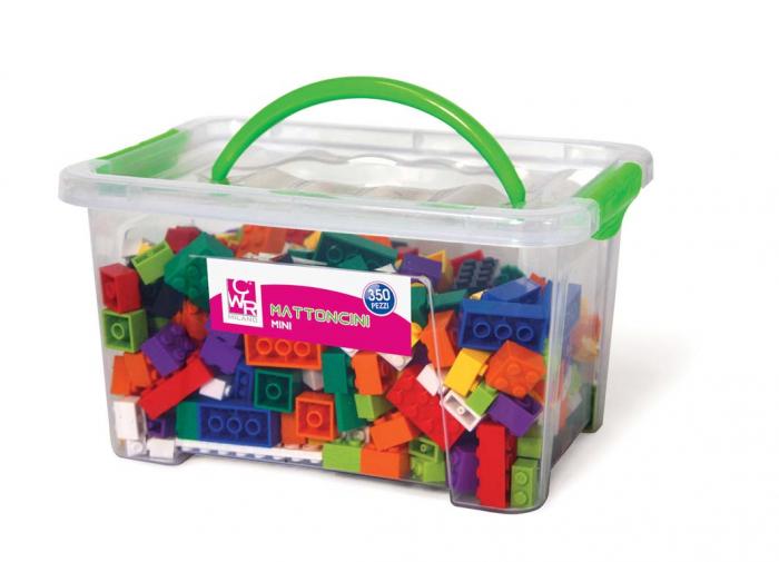 Joc de construcții cuburi atașabile mini 0