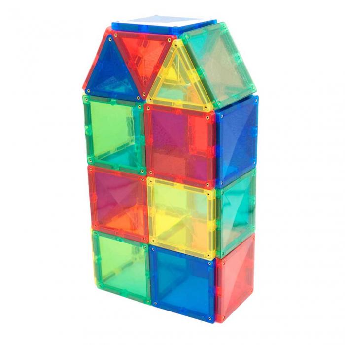 Joc de construcții magnetic Fun Mags 4