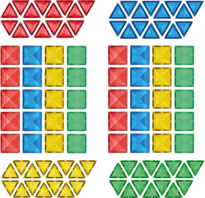 Joc de construcții magnetic Fun Mags 1