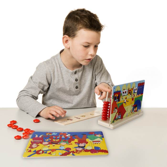 Joc de dezvoltare cognitivă Caută și numără 3