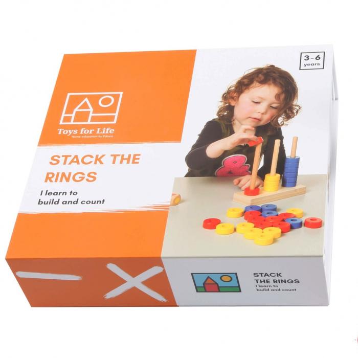 Joc de dezvoltare cognitivă, Stivuiește inelele [4]