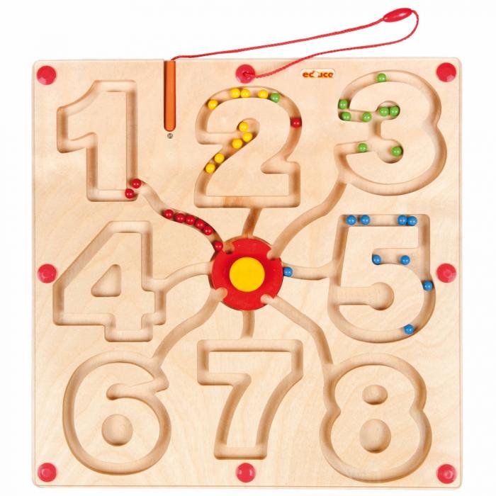 Joc motricitate magnetic cu numere 0