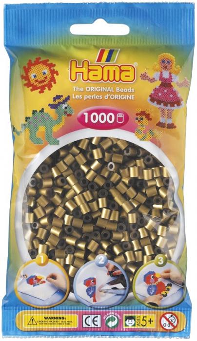 Mărgele de călcat HAMA MIDI bronz 1000 bucăți 0