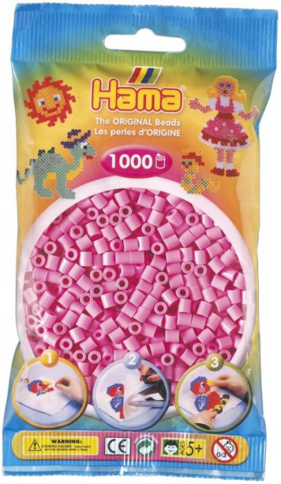 Mărgele de călcat HAMA MIDI Roz Pastel 0
