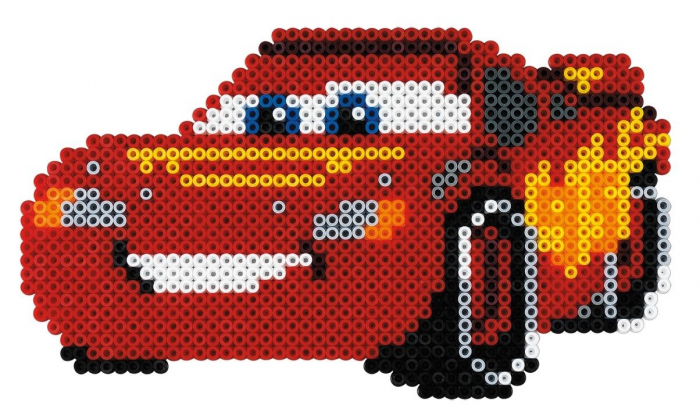 Margele de calcat HAMA MIDI DISNEY CARS 4000 in cutie 1