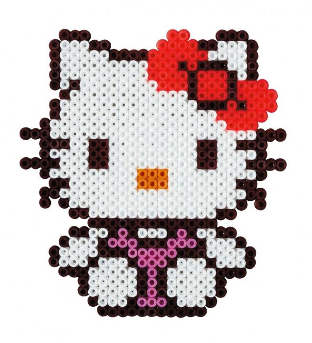 Margele de calcat HAMA MIDI Hello Kitty 1100 infoliat 1