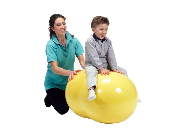 Minge alună fizioterapeutică Physio galbenă-55 [0]