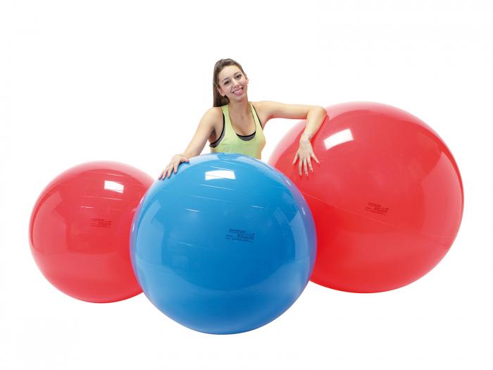 Minge fizioterapeutică Gymnic Fizio 120-roșu [1]
