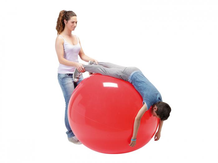 Minge fizioterapeutică Gymnic Fizio 120-roșu [2]