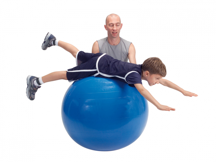 Minge fizioterapeutică Gymnic Fizio 120-roșu [3]