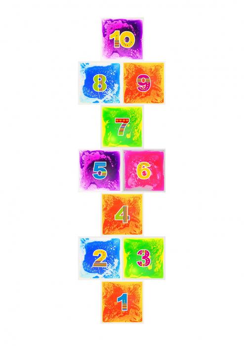 Șotron din 10 plăci senzoriale cu gel [0]