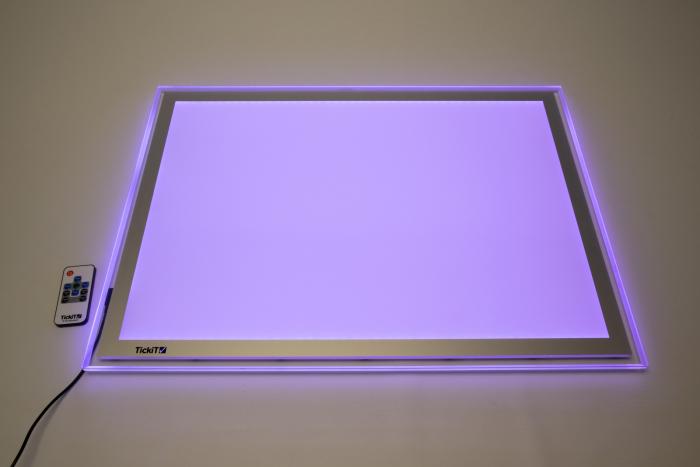Panou luminos A2 cu schimbare de culoare 4