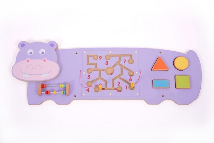 Panou motricitate fină Hipopotamul 0